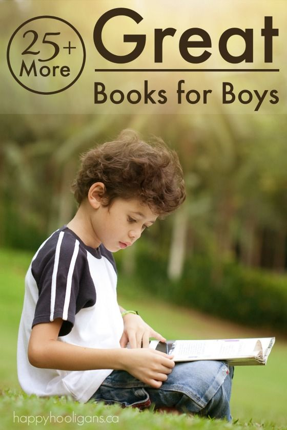25+ More Great Books for Boys - Adventure, action, mystery, suspense and drama, sure to captivate even the most reluctant readers - Happy Hooligans