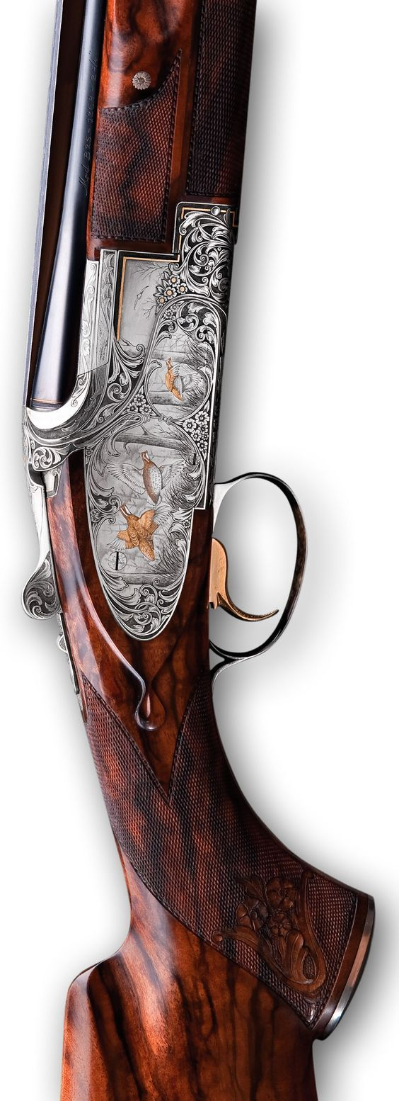 Browning Custom B25 Sporter Sideplate Trap - With a full sideplate design, the B25 Sporter is the epitome of over and under shotguns. This much appreciated model is generally configured with long barrels and a wide ventilated rib fitted with a mid-bead sight.