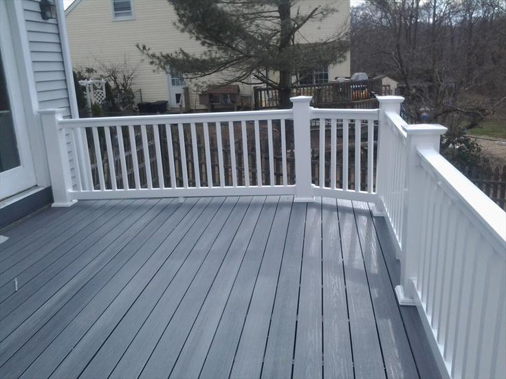 The 25 best ideas about composite deck railing on for White composite decking