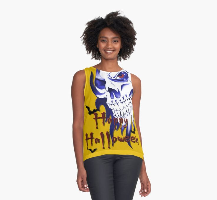 Get down with 20% off everything. Use GETDOWN20. Happy Halloween, skeleton, skull, demonic eyes, face, bats 4 by cool-shirts Also Available as T-Shirts & Hoodies, Men's Apparels, Women's Apparels, Stickers, iPhone Cases, Samsung Galaxy Cases, Posters, Home Decors, Tote Bags, Pouches, Prints, Cards, Mini Skirts, Scarves, iPad Cases, Laptop Skins, Drawstring Bags, Laptop Sleeves, and Stationeries #halloween #tanks #tops #popular #trending