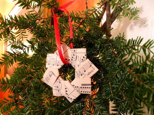 folded paper star tutorial