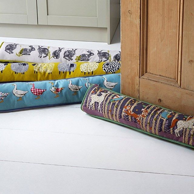 Cotton Draught Excluder; Into The Woods Design by Ulster Weavers.