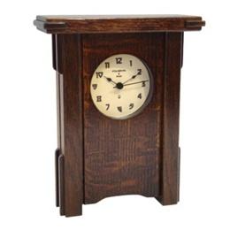 Greene & Greene Inspired Mantel Clock   http://store.gamblehouse.org/p-396-greene-greene-inspired-mantel-clock-1.aspx