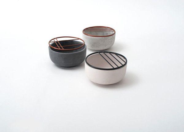 Ikebana-Inspired Cups & Bowls by Hanna Kruse - Design Milk
