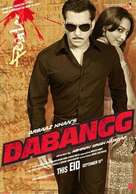 Dabangg 2010 300MB Hindi 480p BRRip