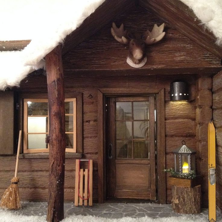 How To Build A Miniature Log Cabin