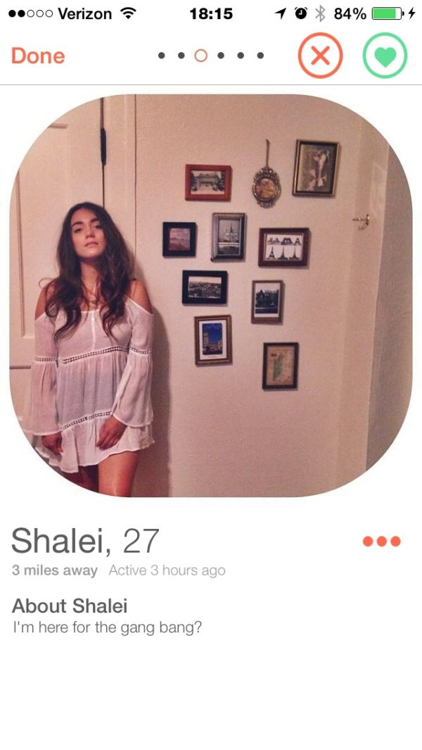 These girls on Tinder are straight to the point (42 Photos