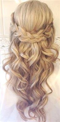 Geflochtene Hochzeitsfrisuren für dünnes Haar Einfache Hochzeitsgast-Frisuren