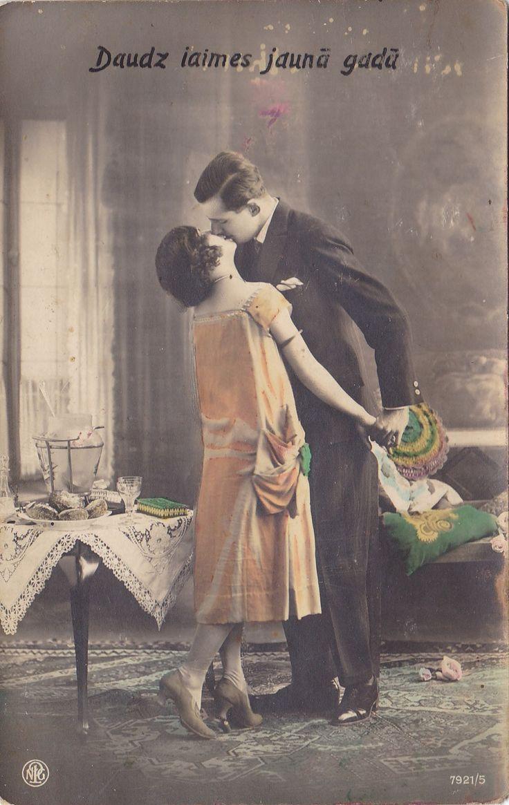 Дореволюционные открытки женщины, днем
