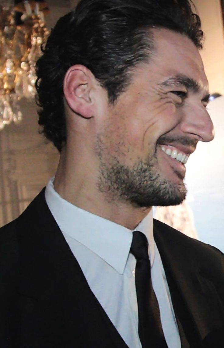 The Smile Of DAVID GANDY