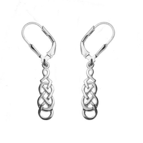 Sterling Silver Celtic Filigree Drop Earrings These Elegant Have A