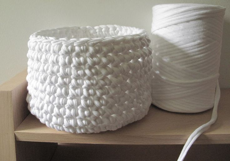 Crochet Basket...this is very cool, wish I could make something this cool!