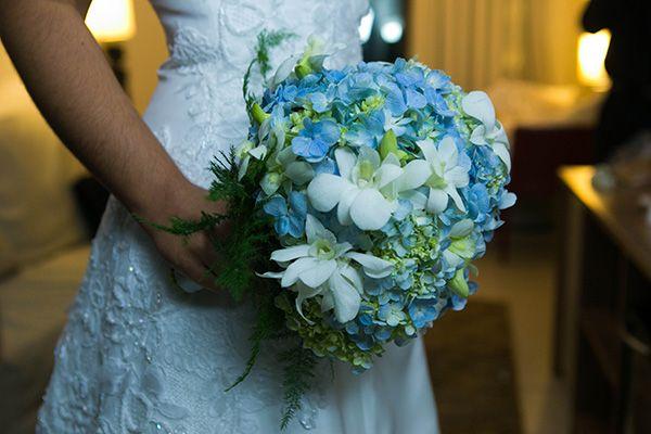 Something blue. Casamentos Reais   Rafaella + Geraldo