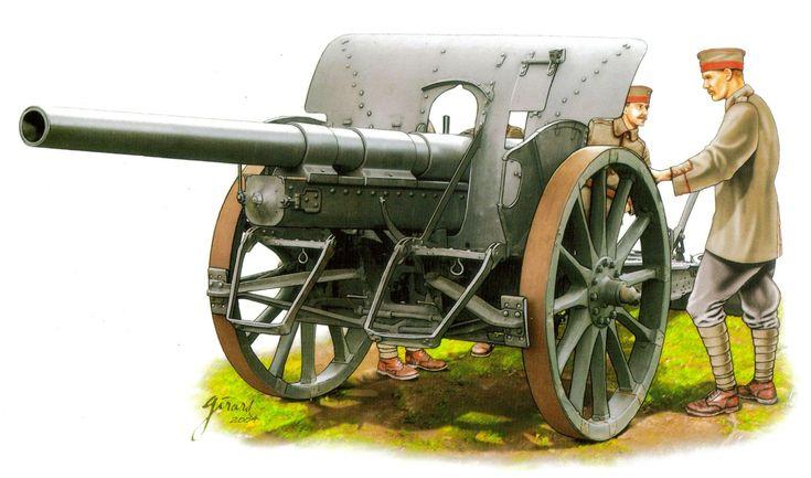 77mm Feldkanone 16. El 77mm Feldkanone 16 se introdujo en 1916 y poseia un barril más largo que le proporcionaba mayor alcanze que el anterior cañon de 1896 77mm fabricado por Krupp, aunque ambos permanecieron en servicio durante la Gran Guerra. Más en www.elgrancapitan.org/foro