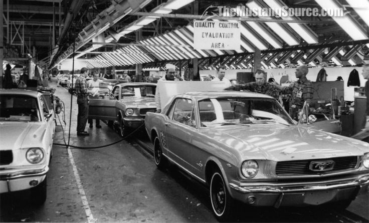 66 Mustang assembly line - Dearborn Mi. -  Quality Assurance