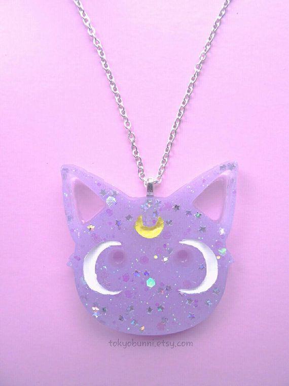 Diana collar - Sailor Moon-Anime-Fairy Kei-Kawaii-Luna Artemis