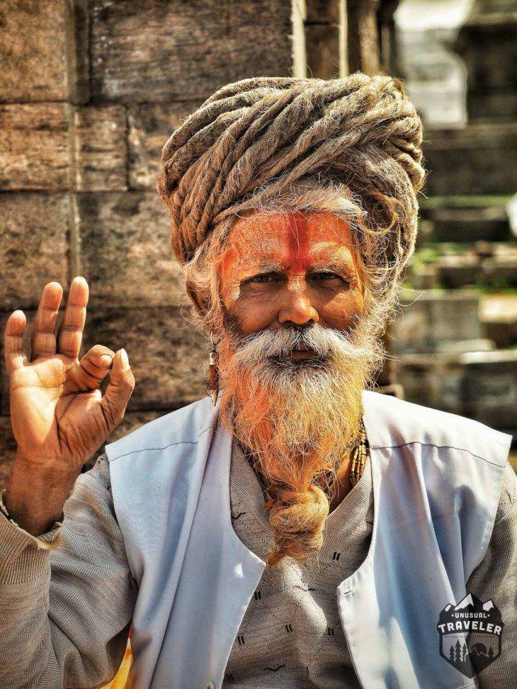 A Sadhu in Kathmandu Nepal. #Nepal #kathmandu #portrait #sadhu