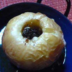 Manzanas asadas con pasas de uva y nueces @ http://allrecipes.com.ar