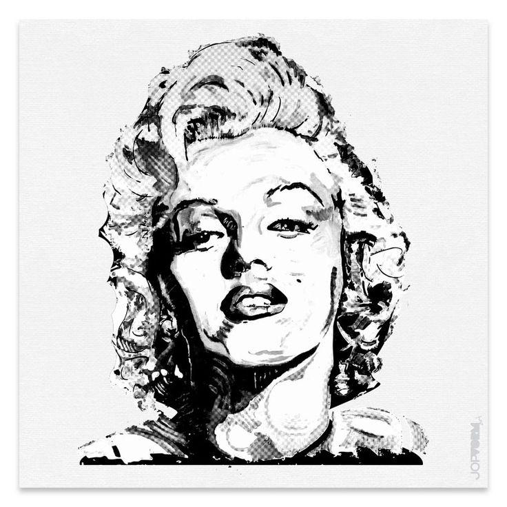 Schilderij Marilyn Monroe | JopVorm Vormgeving Hoofddorp
