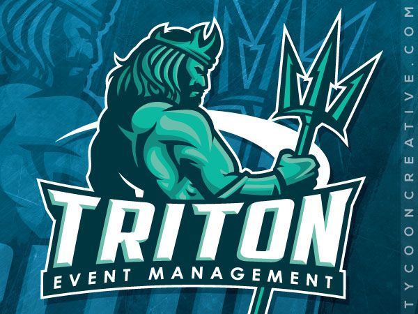 TRITON Event Management on Behance - American Logo Sport Theme