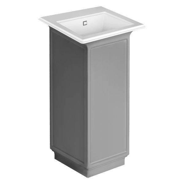 46826 – Gessi Eleganza Freestanding Basin External Lacquering Wall Drainage – Bathroom