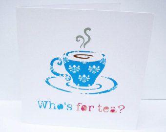 40 cumpleaños de tarjetas - tarjeta de cumpleaños Cuadragésima - taza de té - tarjeta de felicitación hecha a mano - papel corta tarjeta - 40 para una mujer - taza - Etsy Reino Unido