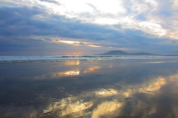 Clare Island as seen from Carrownisky Strand, Co. Mayo. #WildAtlanticWay