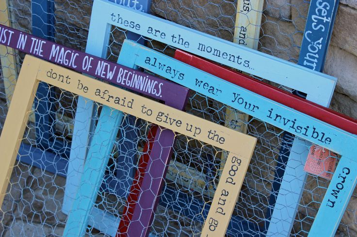 trust in the magic of new beginnings! it is transition time - high school and college graduations, new jobs and relocations - and these chicken wire frames make the perfect gift! is it a frame, or a j