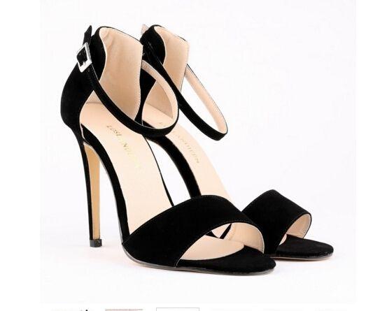 Loslandifen 2017 sexy lady sandalias zapato con cierre de peep toe mujeres  bombas de alta calidad zapatos de boda rojos de tacón alto sapatos ...