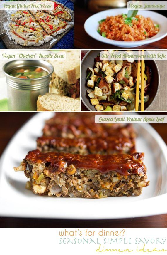 dinner ideas 10.12.12 look so good!