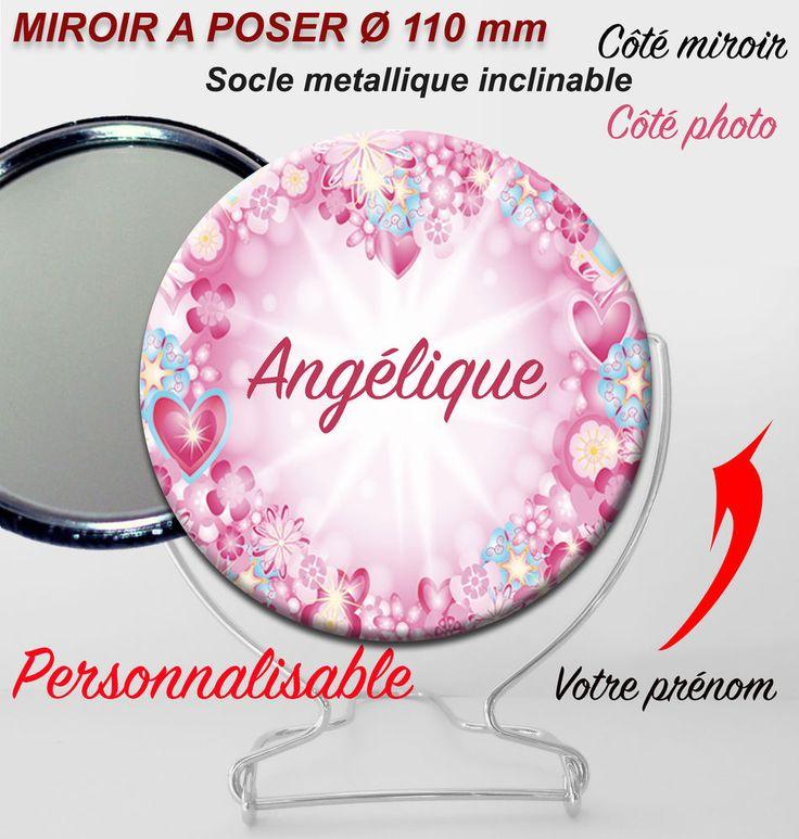 Plus de 1000 id es propos de miroirs de poche personnalis s sur pinterest - Miroir een poser sur tafel ...