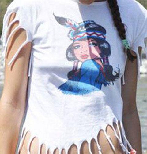 Camiseta de india