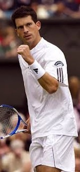 Tim Henman - for ever grateful to him for introducing me to the sport of tennis and for the many hours of intense viewing!