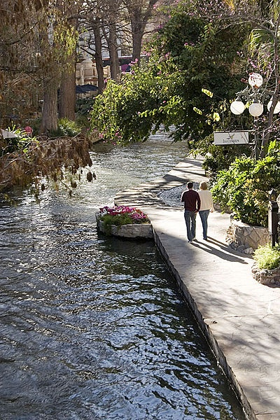In San Antonio, Texas, the San Antonio River Walk is a public park open 365 days a year, lined with individual businesses composed of restaurants, hotels, attractions and more. Loved this place when I went :)