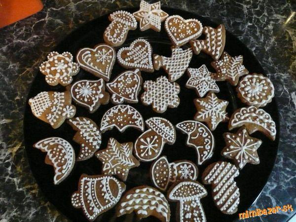 Vianocne medovnicky - Christmas gingerbread