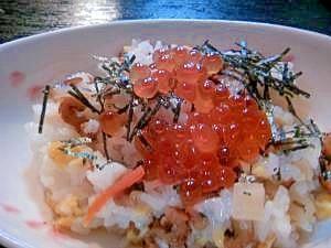Taro Root & Conger Eel   穴子のちらし寿司♪すし太郎で