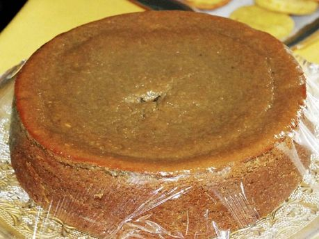Jamaican sweet potato pudding. Classic Christmas dessert in my family.