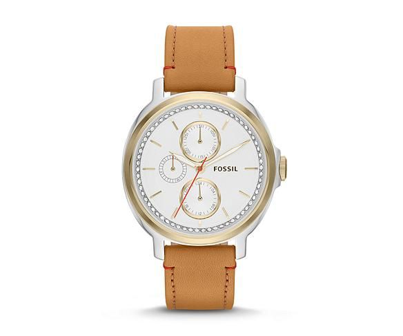 FOSSIL Women's Leather Watches, Leather Band Watches | Free Shipping