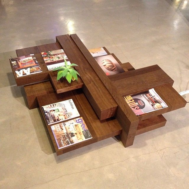 One of Our favourites! The Manhattan coffee table by Dutch design company Linteloo