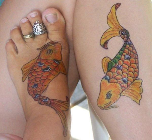 Koi tattoo meaning japanese koi fish tattoo color for Tattoo koi fish color meaning