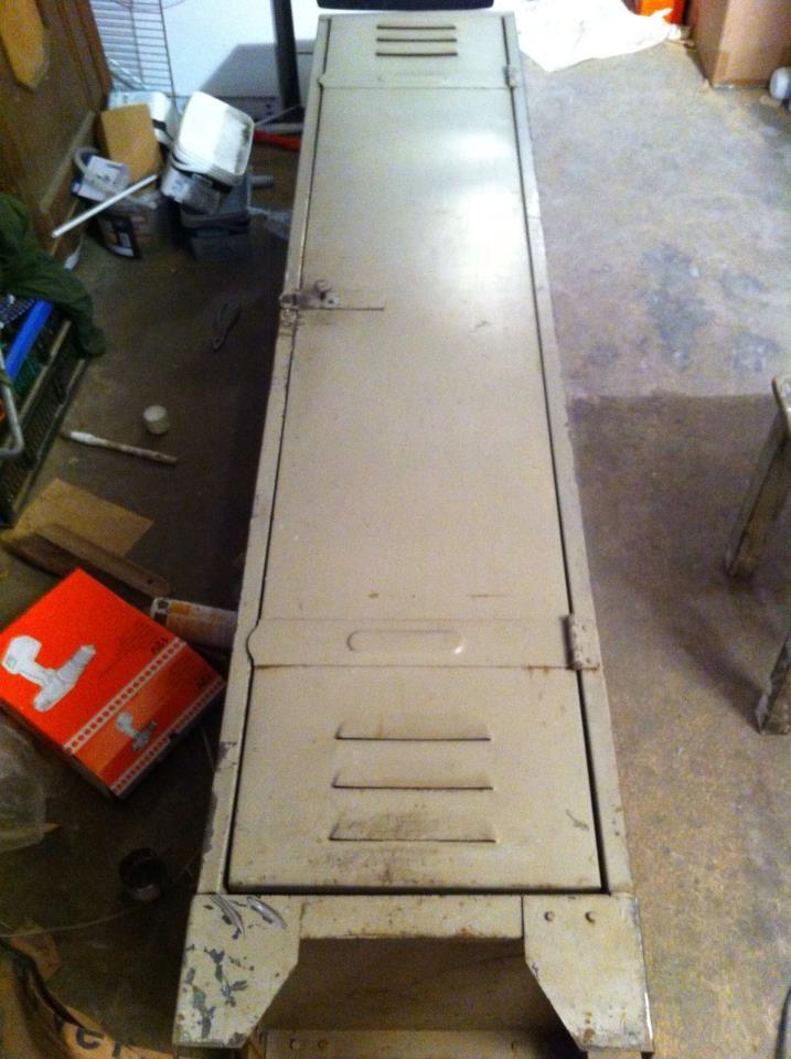 Ancien Vestiaire deviendra meuble TV! Instructions...