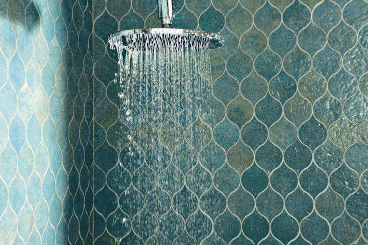 blue wave tiles | Water