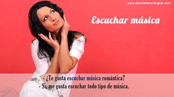 "It is common to add adjectives and adverbs to the sentences about Spanish hobbies, for example: ""Me gusta escuchar música romántica"" (romántica is an adjective) and ""Me gusta mucho escuchar música"" (mucho is an adverb)"