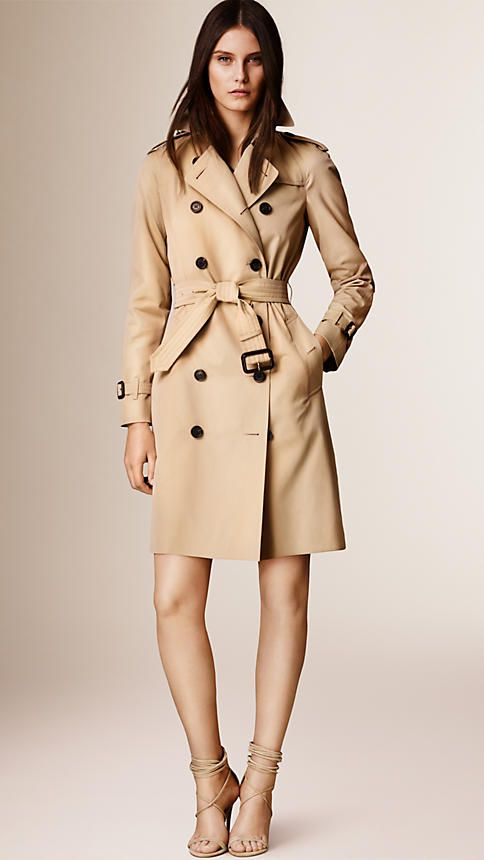 My dream trench coat - Burberry Westminster - Long Heritage Trench Coat in Honey