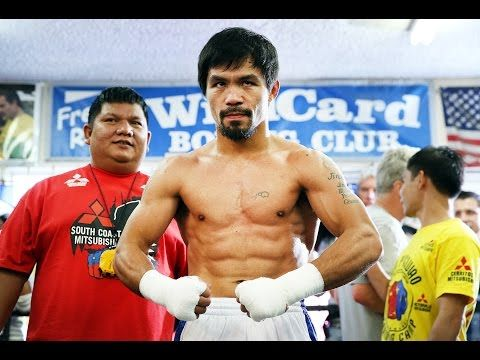 Top Rank Live on YouTube: Manny Pacquiao Final Workout at Wild Card