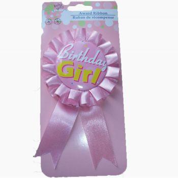 Birthday Girl Rozet