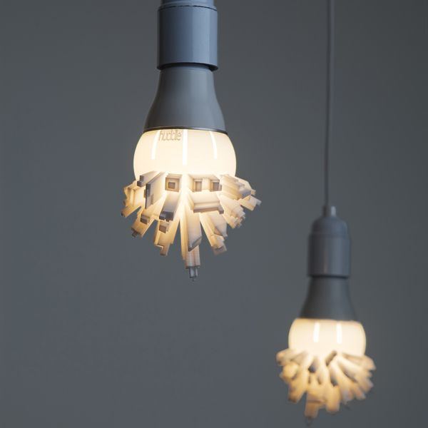 Seen On The Dutch Design Week: Huddle A 3D Printed Light Shade Showing The  Modern Pictures