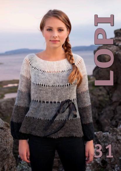 - Icelandic Lopi Pattern Book No. 31 - Book - Nordic Store Icelandic Wool Sweaters
