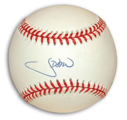 J.D. Drew Autographed National League Baseball: Enjoy this autographed baseball featuring MLB player… #Sport #Football #Rugby #IceHockey