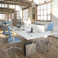 3d office interior model
